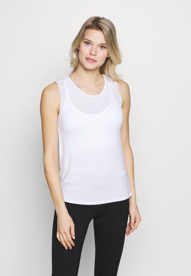 TANK - Linne - white