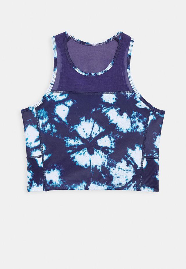 CROPPED TANK TIE DYE - Toppe - astral aura