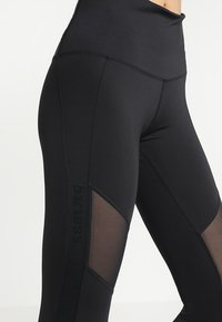 Hunkemöller - BRANDED LEGGING  - Leggings - black - 5