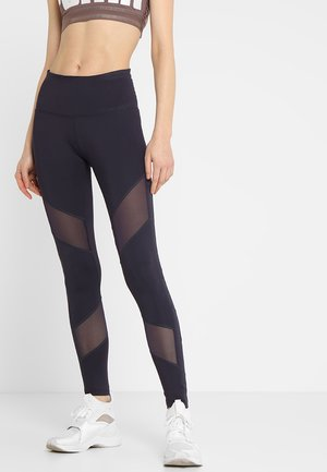 BRANDED - Leggings - cabernet