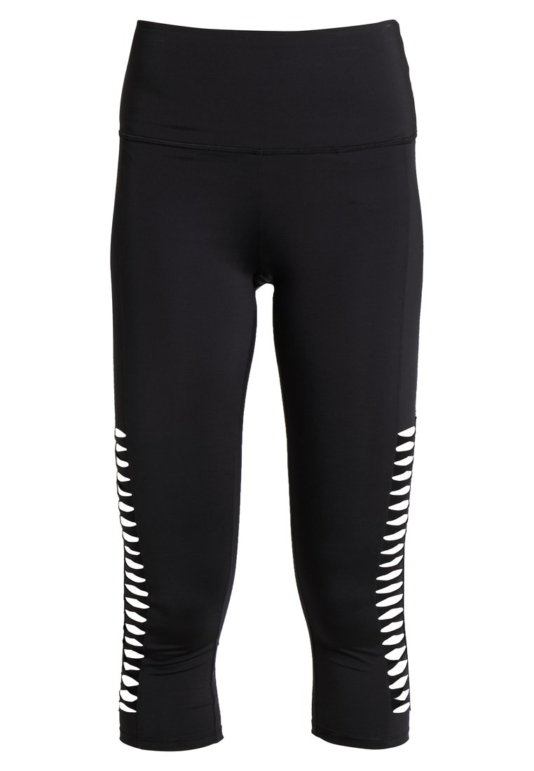 Hunkemöller CAPRI TWIST - Pantaloncini 3/4 - black tzerWklE