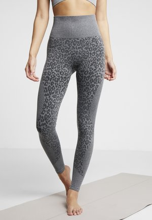 LEGGING  - Leggings - soft grey melee