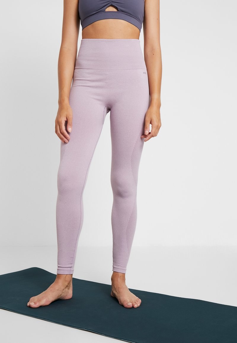 Hunkemöller - LEGGING  - Legginsy - very grape
