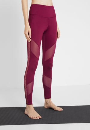 LEGGING SOLID - Leggings - purple potion