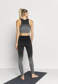 Hunkemöller - LEGGING OMBRE - Trikoot - light grey melee - 2