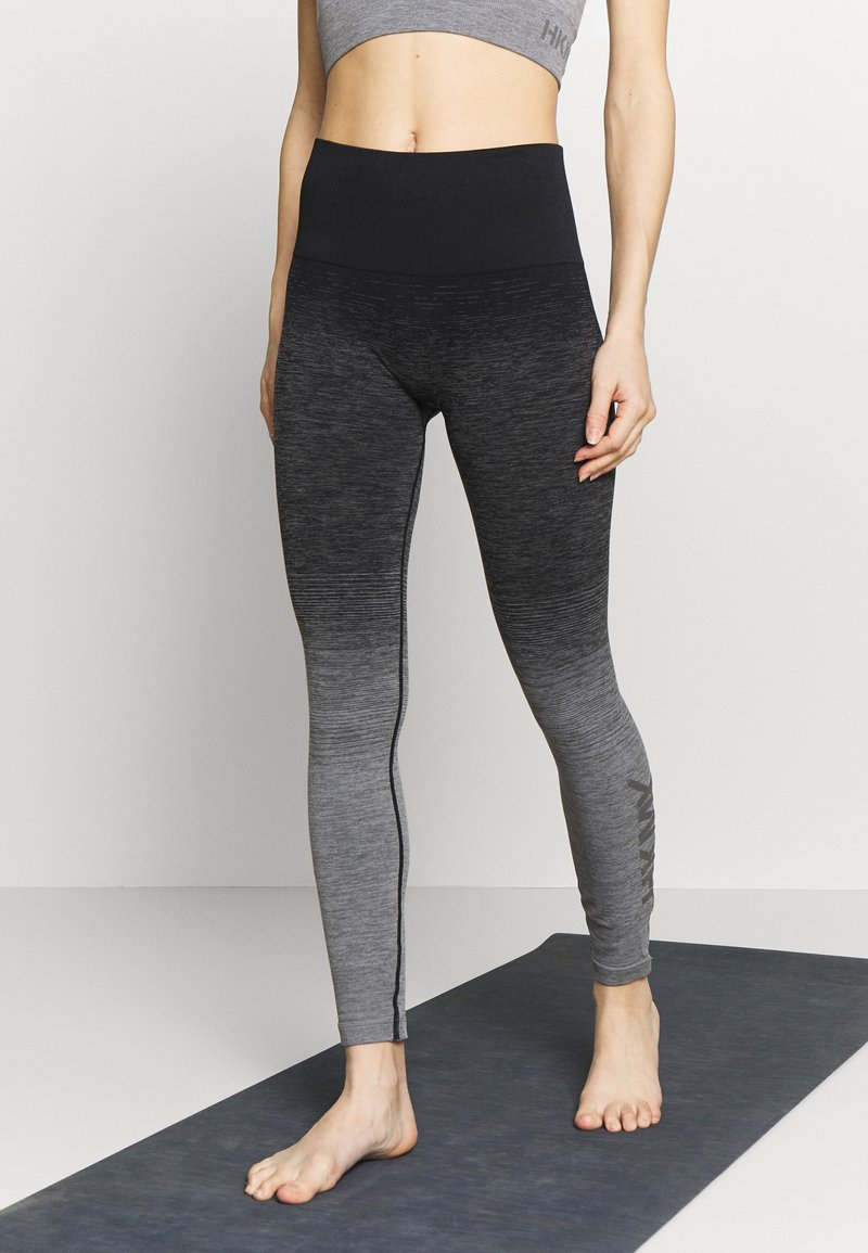 Hunkemöller - LEGGING OMBRE - Trikoot - light grey melee