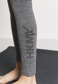 Hunkemöller - LEGGING OMBRE - Trikoot - light grey melee - 4