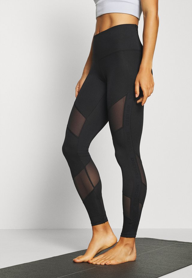 BRANDED LEGGING - Tights - black