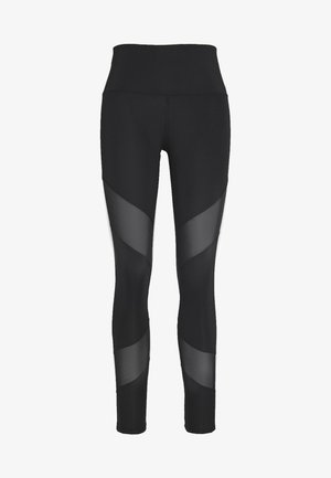 BRANDED LEGGING - Leggings - black