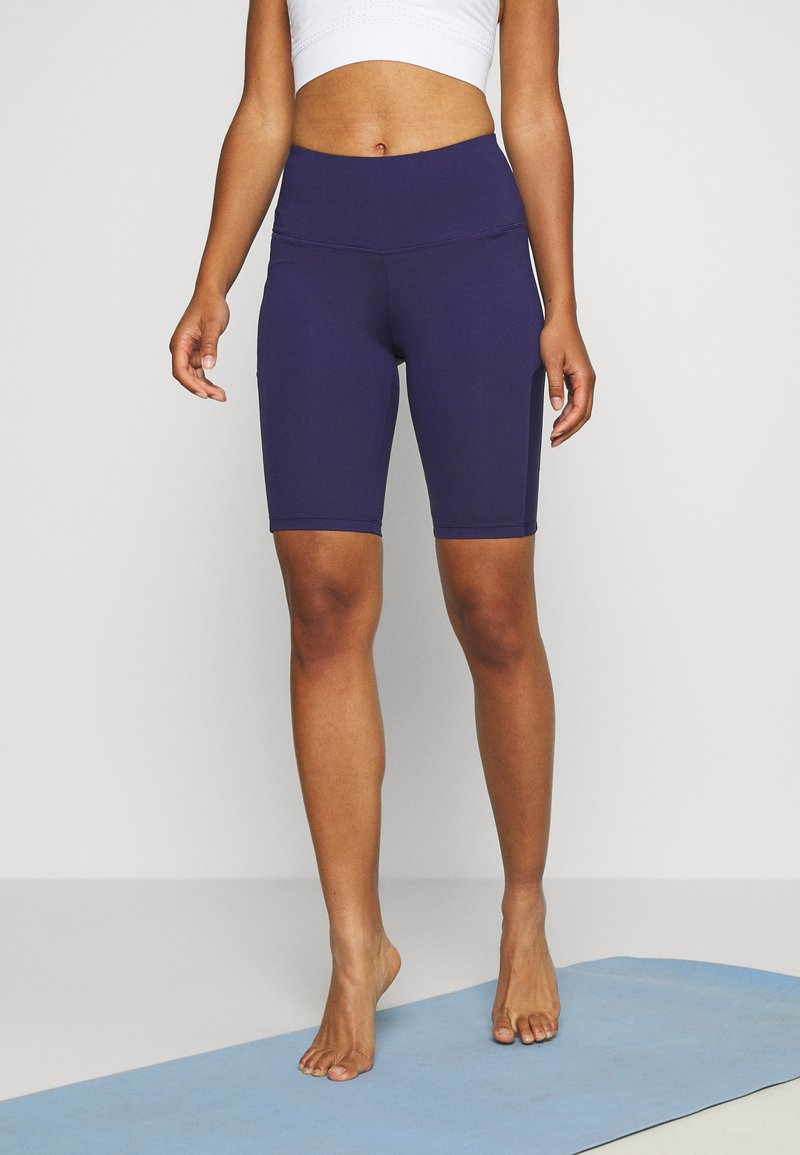 Hunkemöller - CYCLING SHORTS ZIP - Tights - astral aura