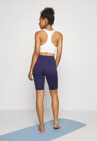 Hunkemöller - CYCLING SHORTS ZIP - Tights - astral aura - 2