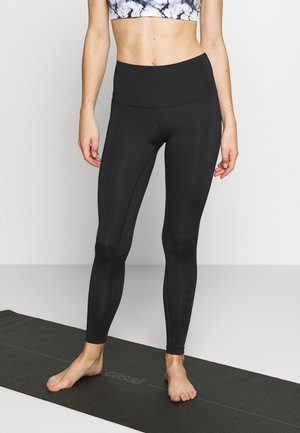 LEGGING BRANDED - Legginsy - black