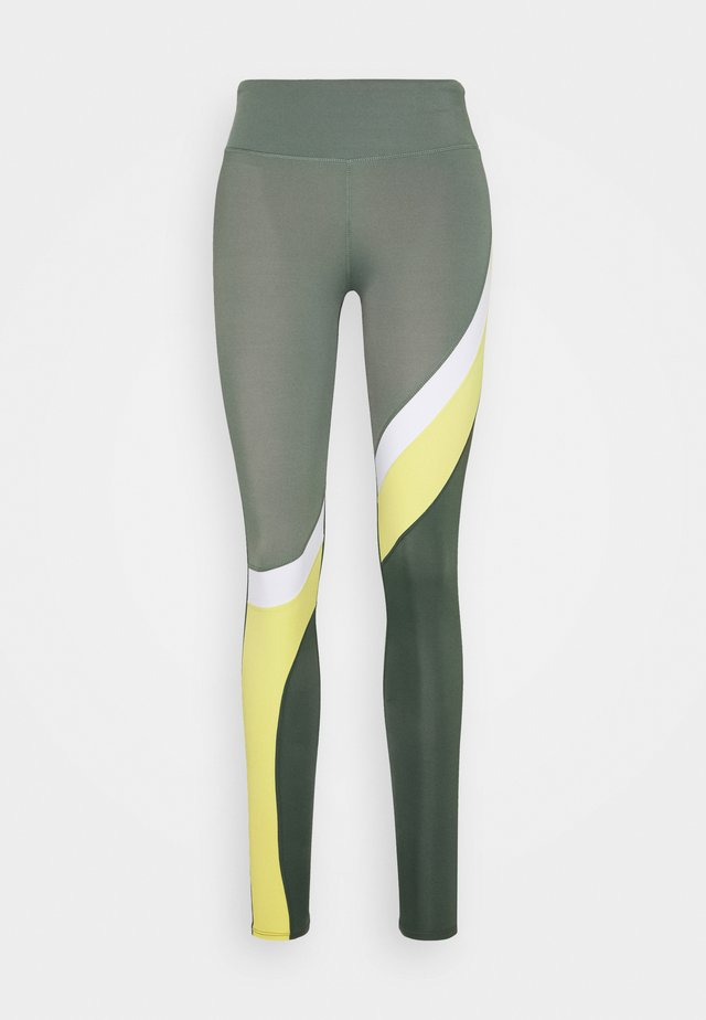 LEGGING - Tights - agave green