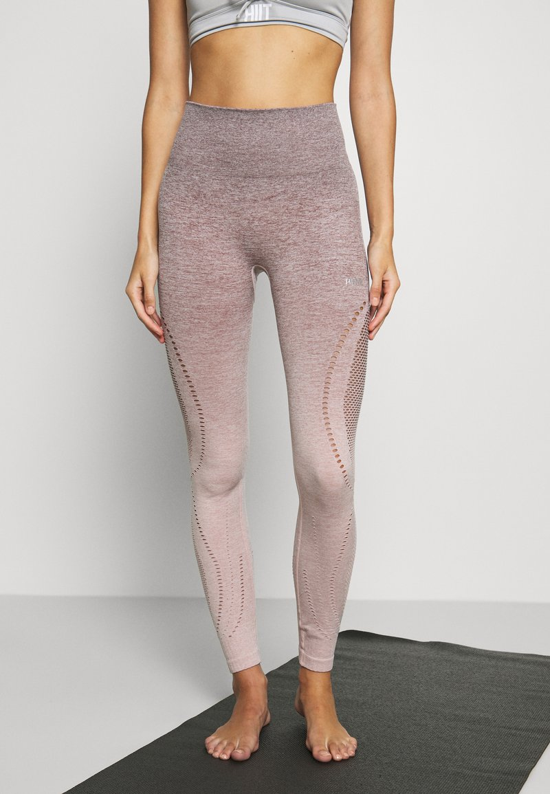 Hunkemöller - LEGGING  - Leggings - adobe rose