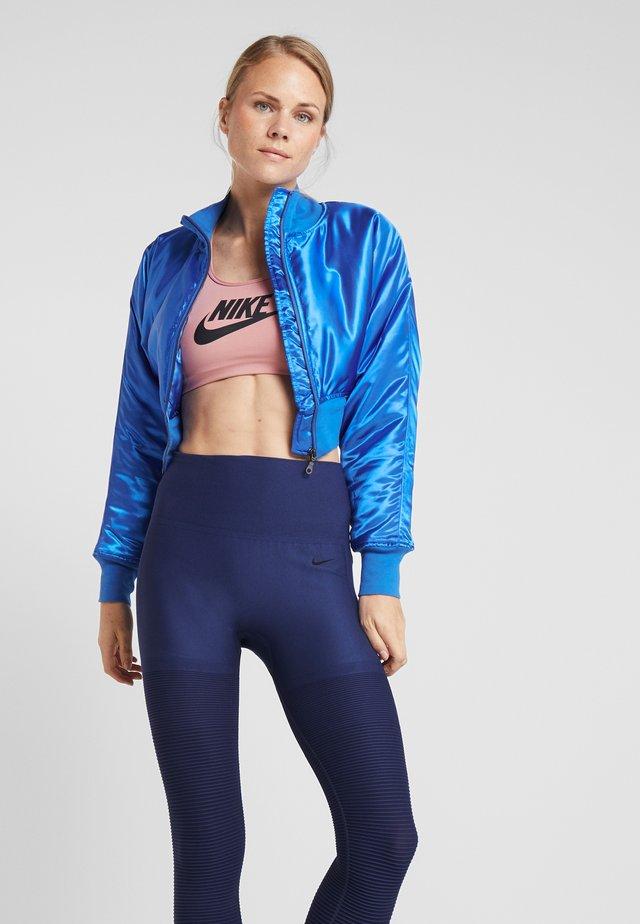 BOMBER - Sportovní bunda - blue