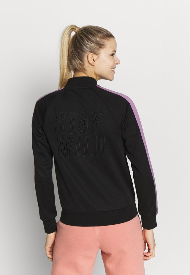 FULLZIP - Training jacket - black