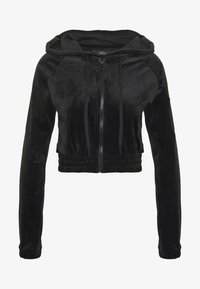 Hunkemöller - JACKET HOODED - Hettejakke - black - 4