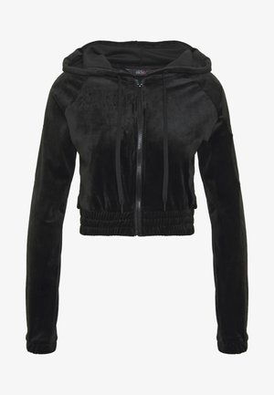 JACKET HOODED - Zip-up hoodie - black