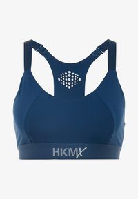 Hunkemöller - THE YOGA CROP BONDED - Bustier - blue teal wing - 5