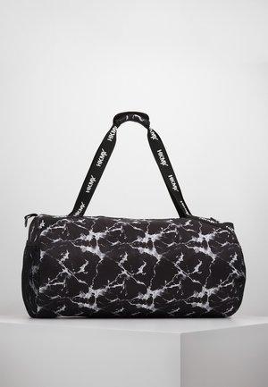 SPORT BAG MARBLE - Sports bag - black