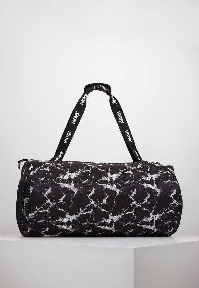 SPORT BAG MARBLE - Sportovní taška - black