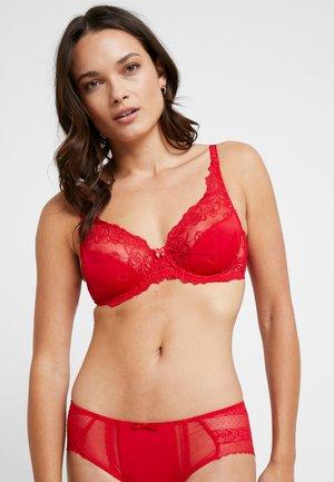 DIVA - Kaarituelliset rintaliivit - tango red