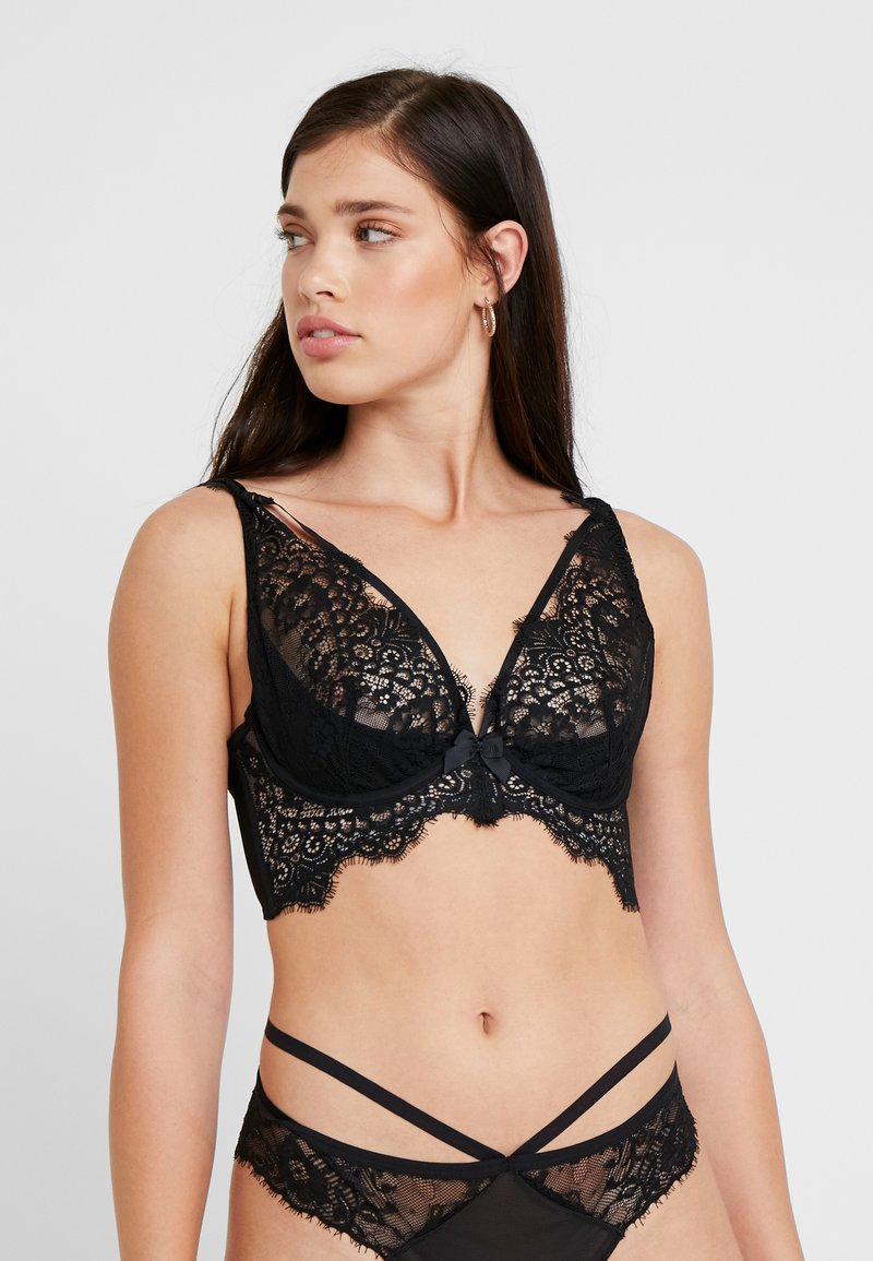 Hunkemöller - MARILEE UP - Underwired bra - caviar