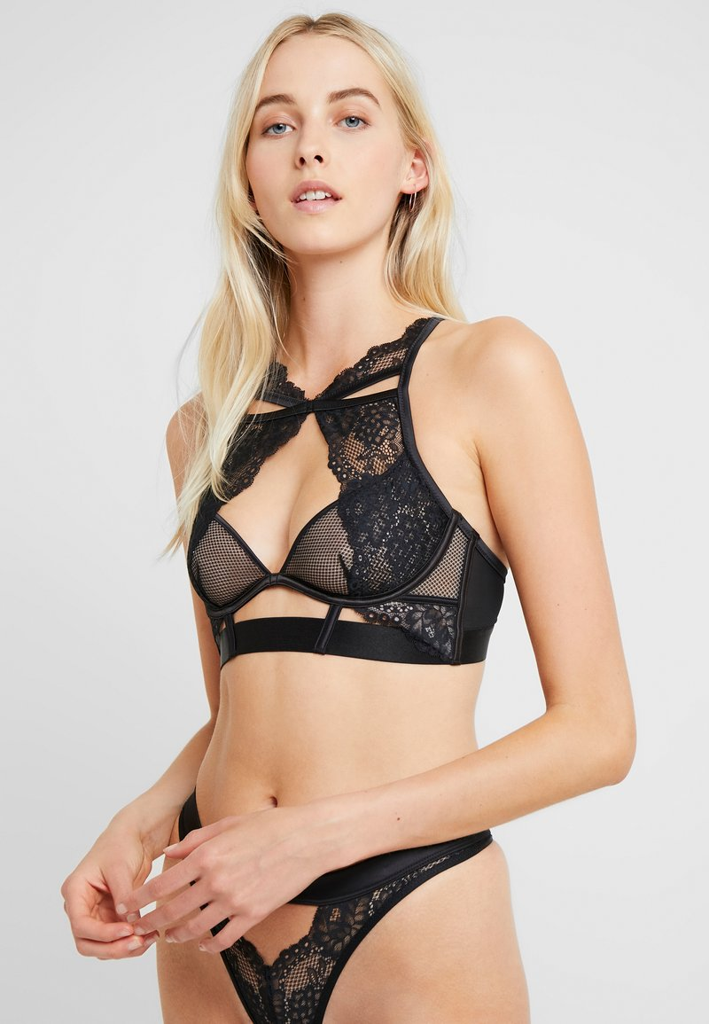 Hunkemöller - TOMEI UP - Underwired bra - caviar