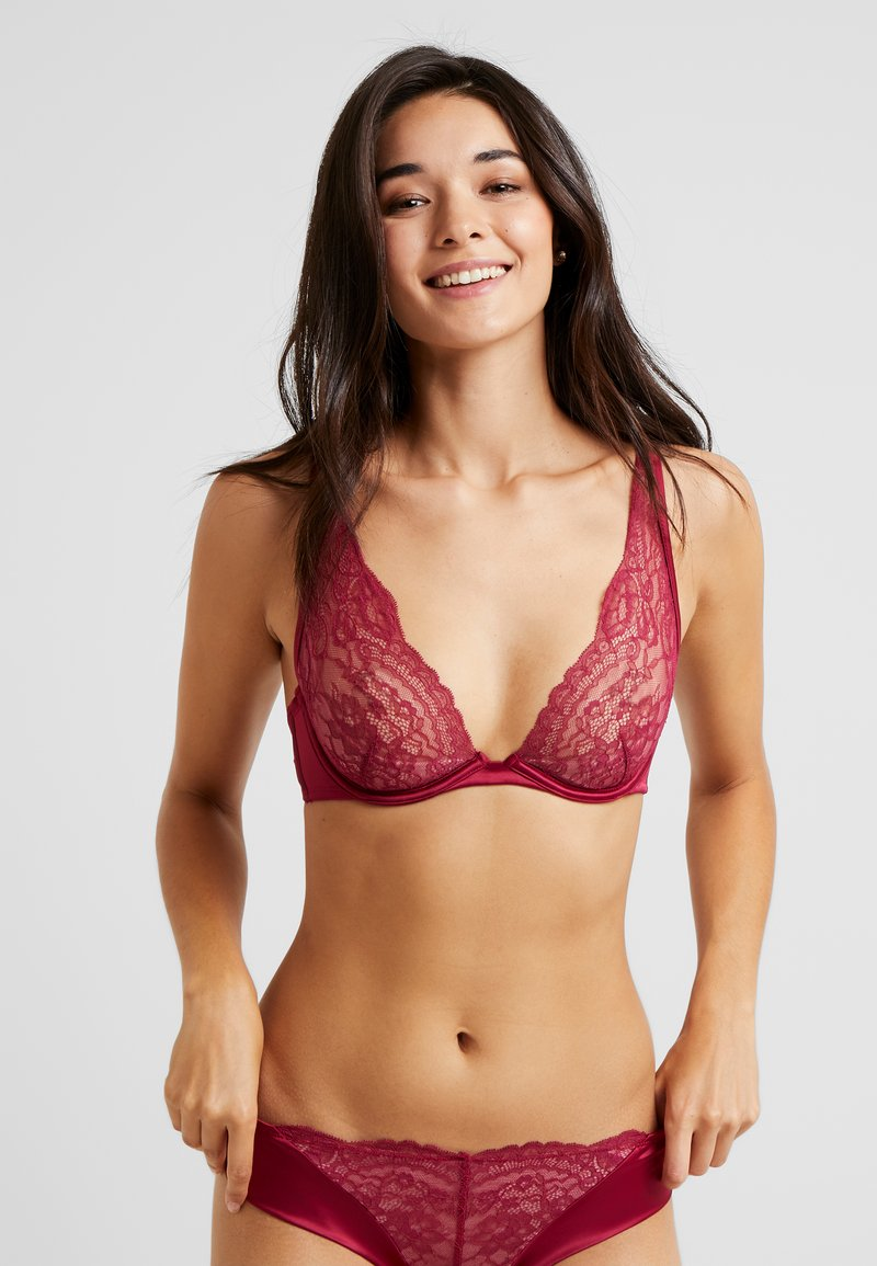Hunkemöller - NONI UP - Bügel BH - deep cherry berry