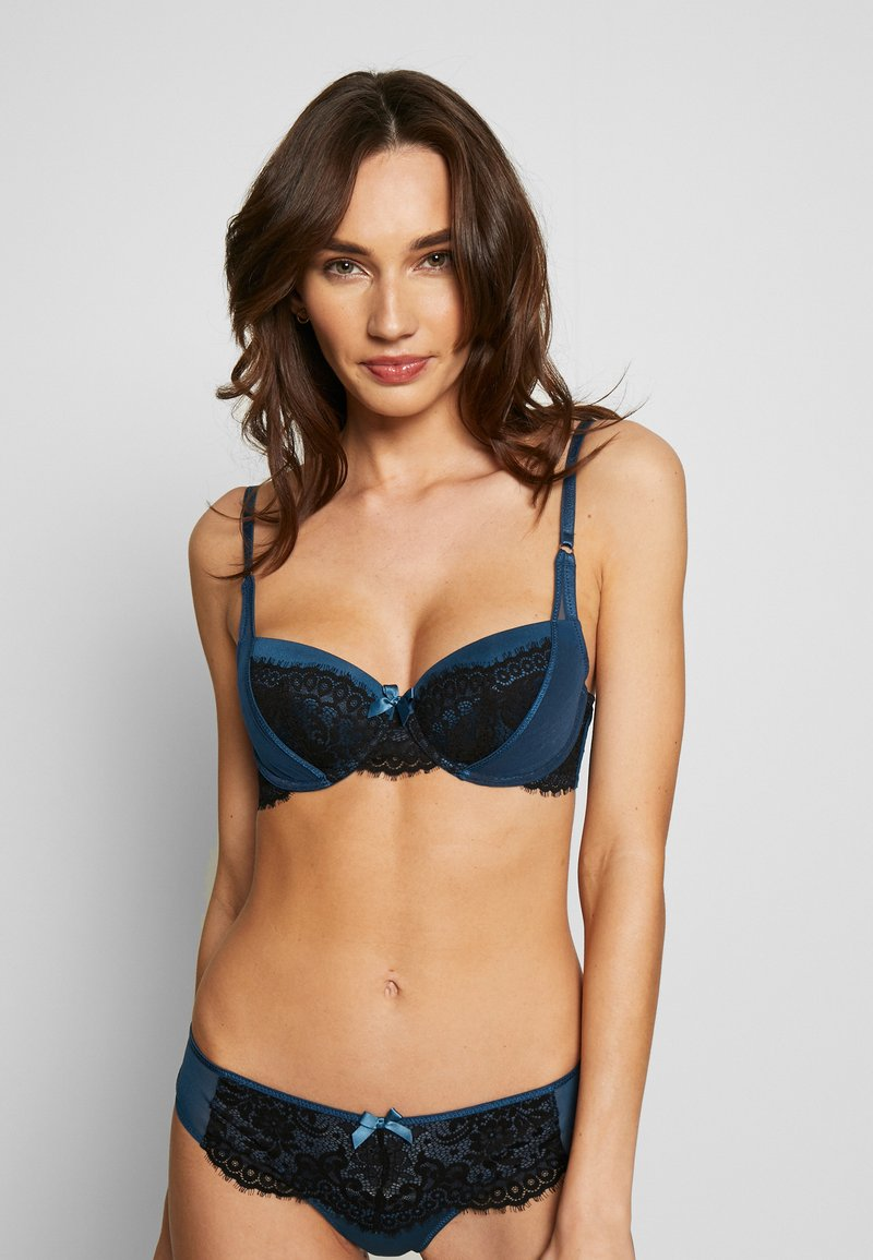 Hunkemöller - WILLOW - Soutien-gorge push-up - caviar