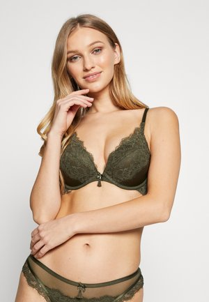 LILLIANA SET - Push-up BH - khaki