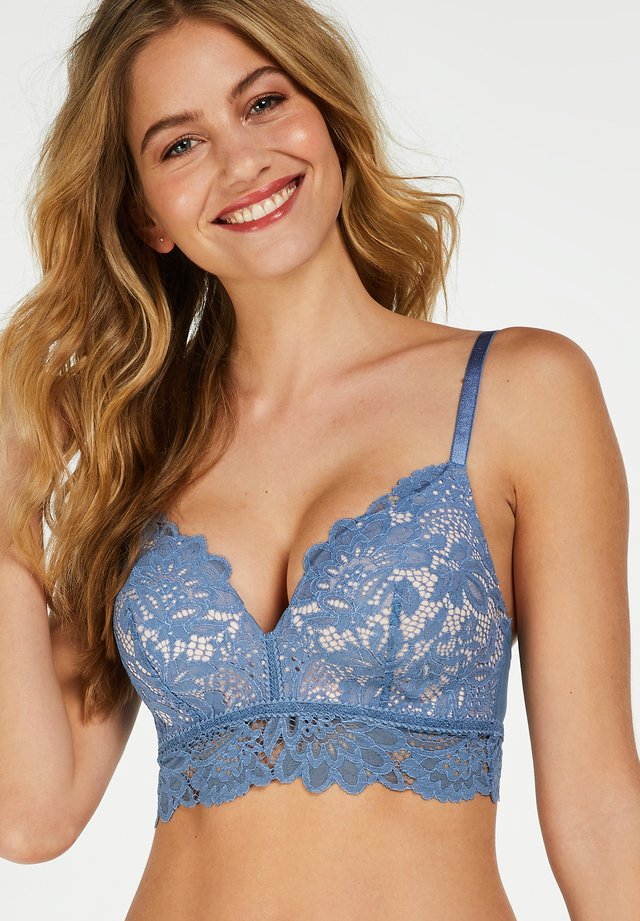 LONGLINE  - Push-up BH - blue