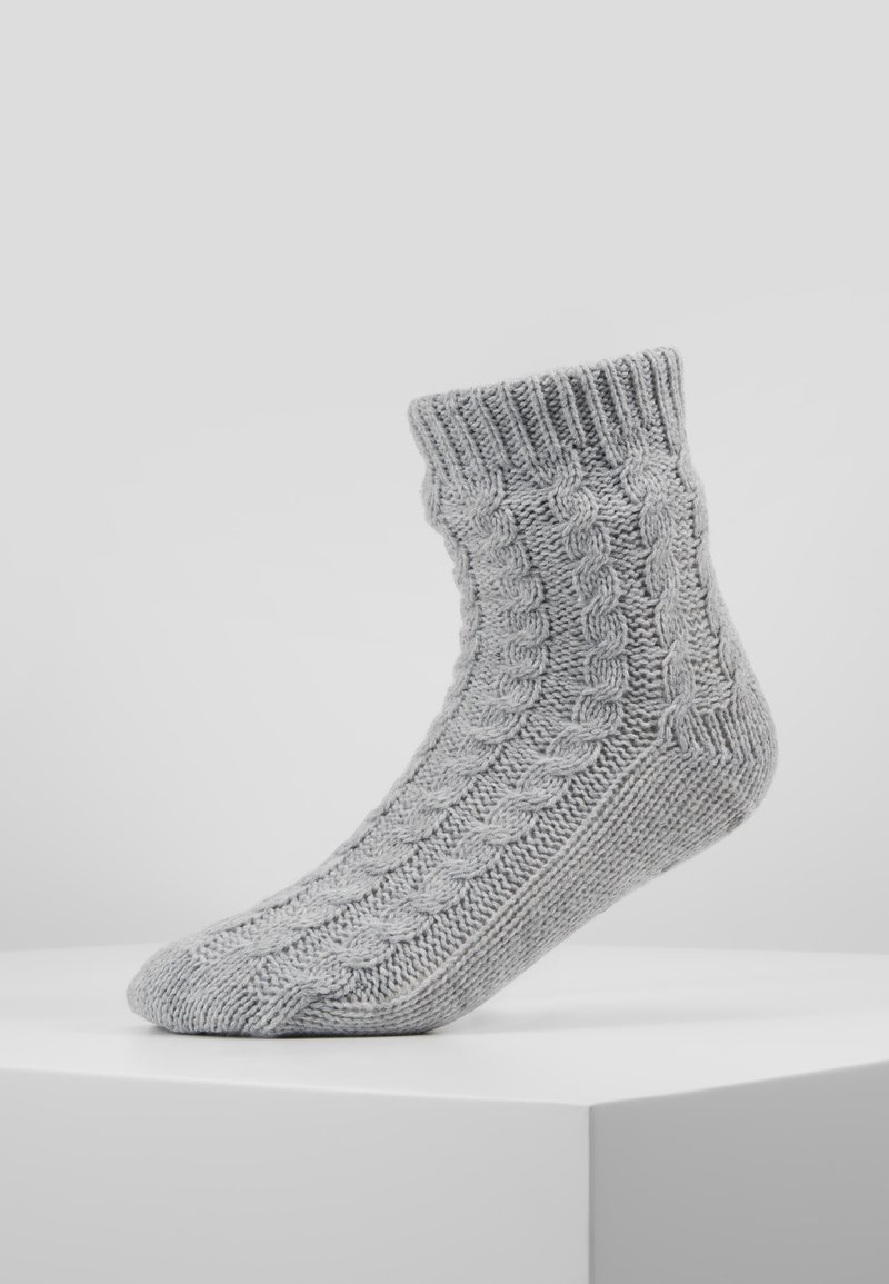 Hunkemöller - SLIPPER SOCK - Sokker - grey