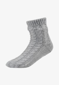 Hunkemöller - SLIPPER SOCK - Sokker - grey - 1