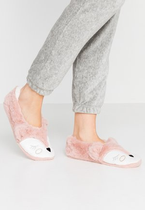 SPARKLE FOX BALLERINA - Slippers - pink
