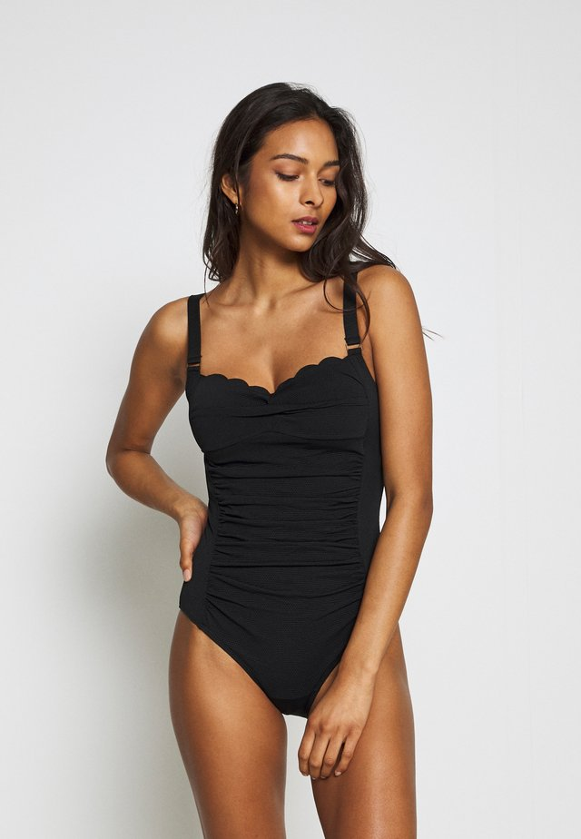 SCALLOP DREAMS OCEAN - Swimsuit - black