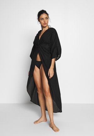 MALIBU TWIST KAFTAN - Beach accessory - nero
