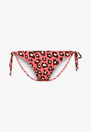 REBEL CAT TANGA - Bikini-Hose - coral
