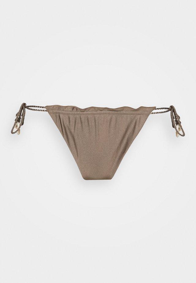 ALESSANDRA HIGHLEG - Bas de bikini - mineral green