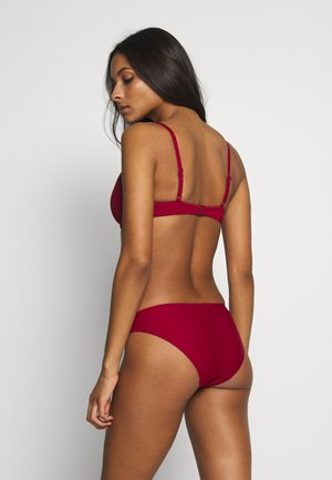 PAGODA WIRE - Bikinitop - red