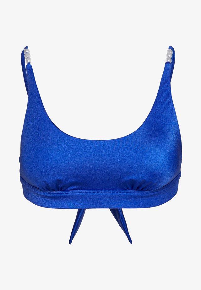 MONACO CROP - Bikiniöverdel - blue
