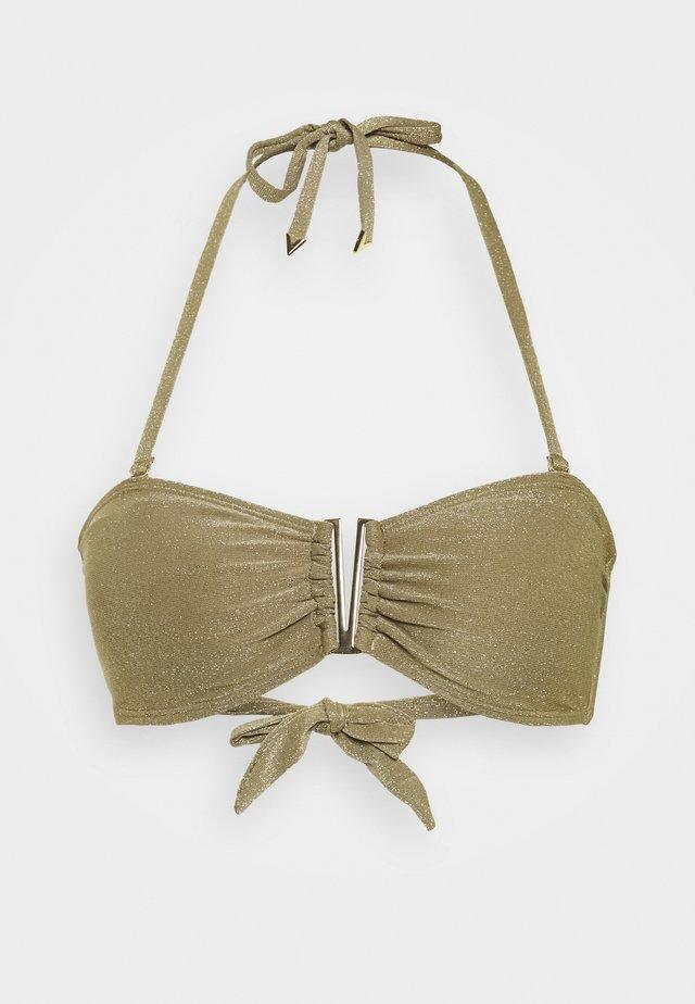 NICE BANDEAU - Bikiniöverdel - taupe