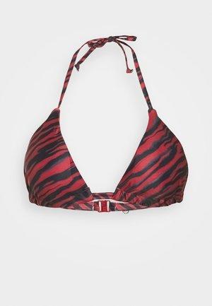MALIBU TRIANGLE - Haut de bikini - red