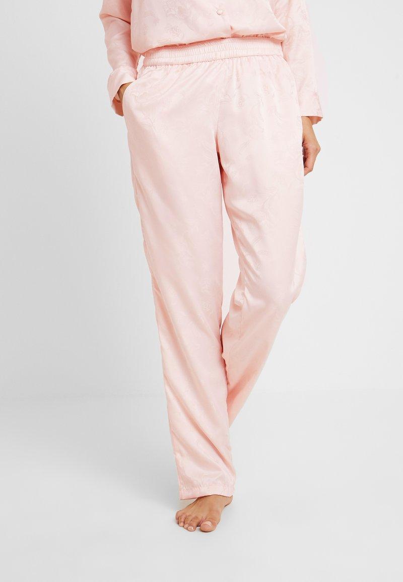 Hunkemöller - PANT PAISLEY - Pyjamasbukse - cloud pink