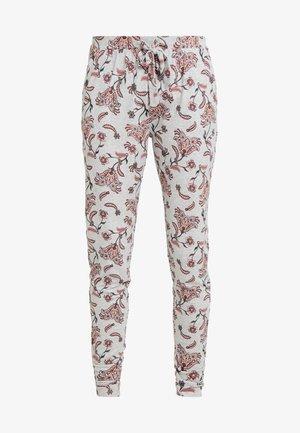 PANT BLOSSOM - Pyjamasbyxor - light grey melee