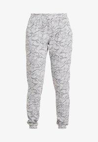 Hunkemöller - PANT SWAN - Pyjamasbukse - light grey melee - 3