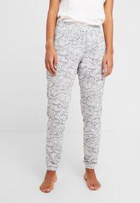 Hunkemöller - PANT SWAN - Pyjamasbukse - light grey melee - 0