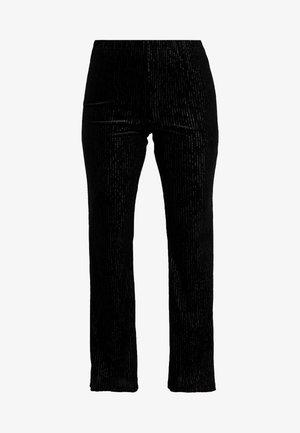 FLARED - Pyjama bottoms - black