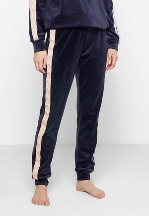 JOGGER STAR TAPE - Spodnie od piżamy - peacot