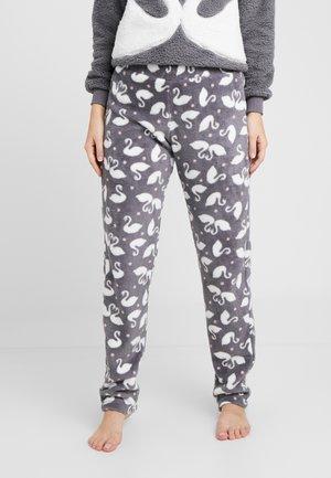 PANT SWAN - Pantalón de pijama - silver grey